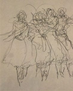 Les Sylphides from Dancers in Movement series