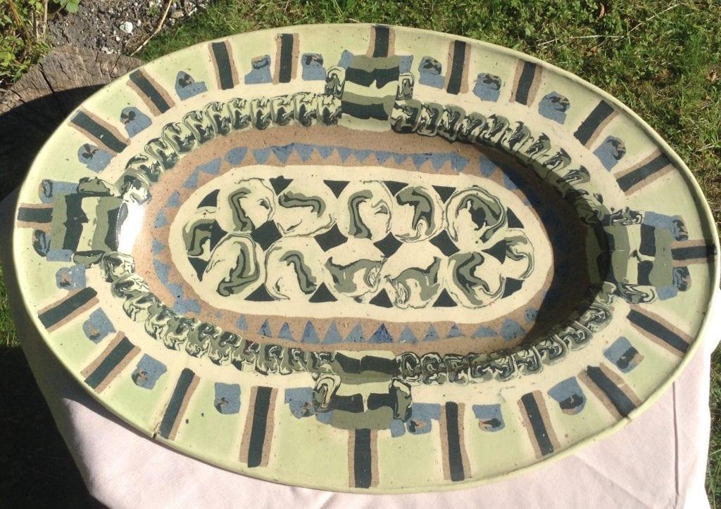 Large Aztec Platter