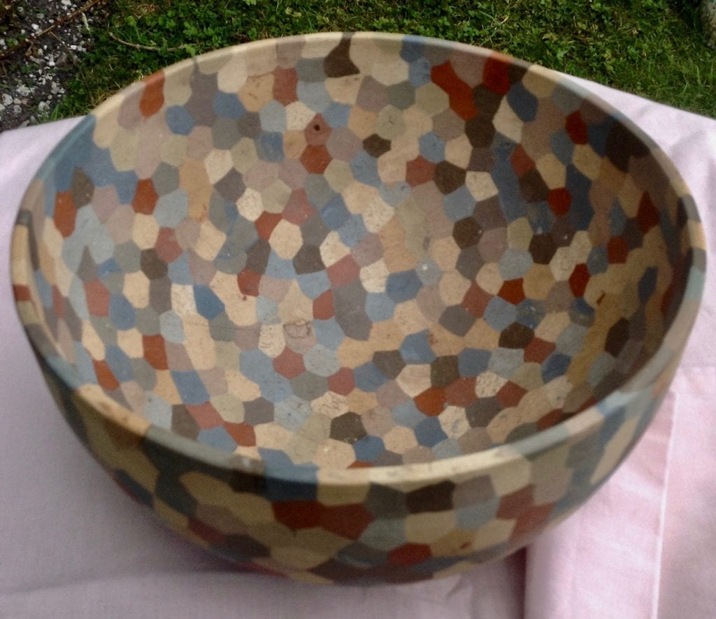 Large Hexagon Bowl In the Ashmolean Collection