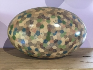 Large Hexagon Egg