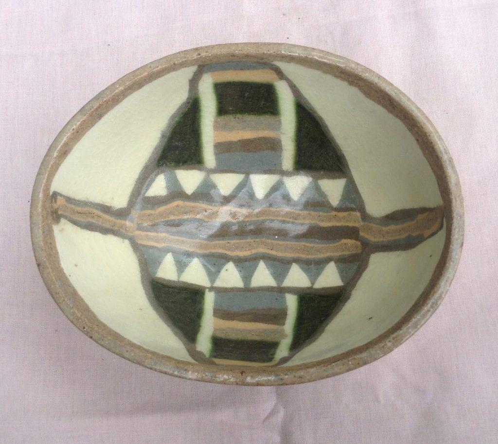 Azte Oval Bowl