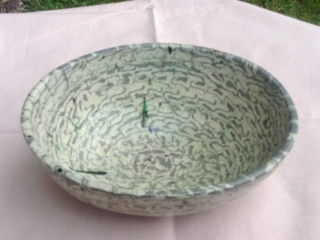 Rakued Millefiori Bowl