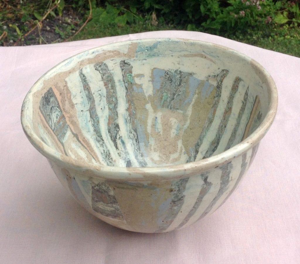 Silvery Bowl