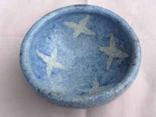 Small Raku Star Bowl
