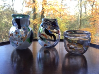 Three Underwater Vases