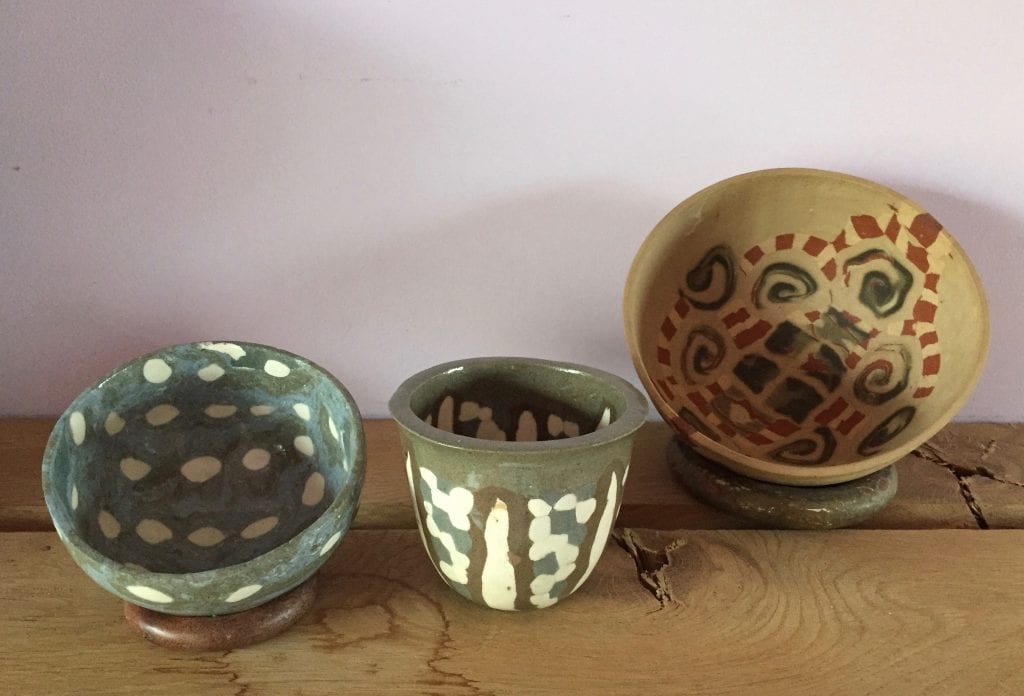 Three Small Bowls