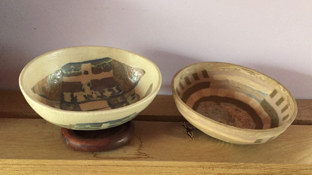 Two Oval Bowls