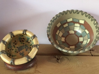 Two Strapped Bowls