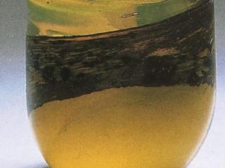Yellow Tumbler featured in La Revue de la CéramIque et du Verre