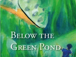 Below the green pond